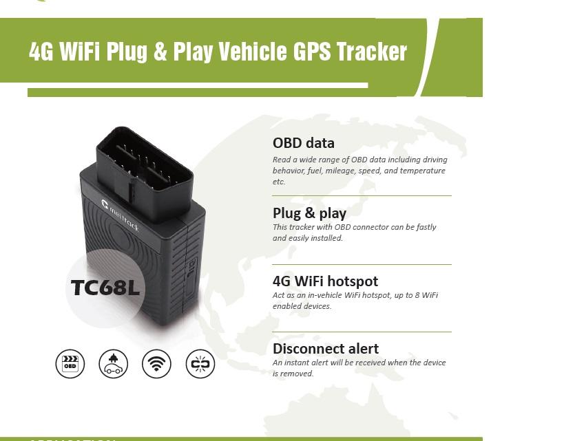 OBDII-GPS TRACKER